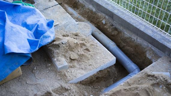 下水管設置工事